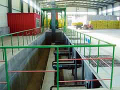 Belt-scale-batching Fertilizer Blending Line